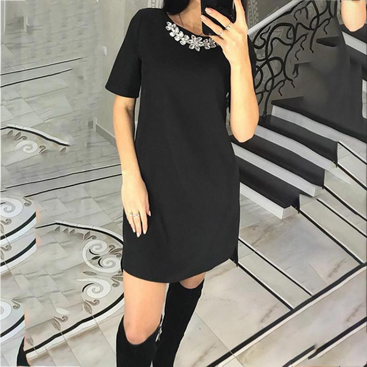 Short Black Sheath Dress