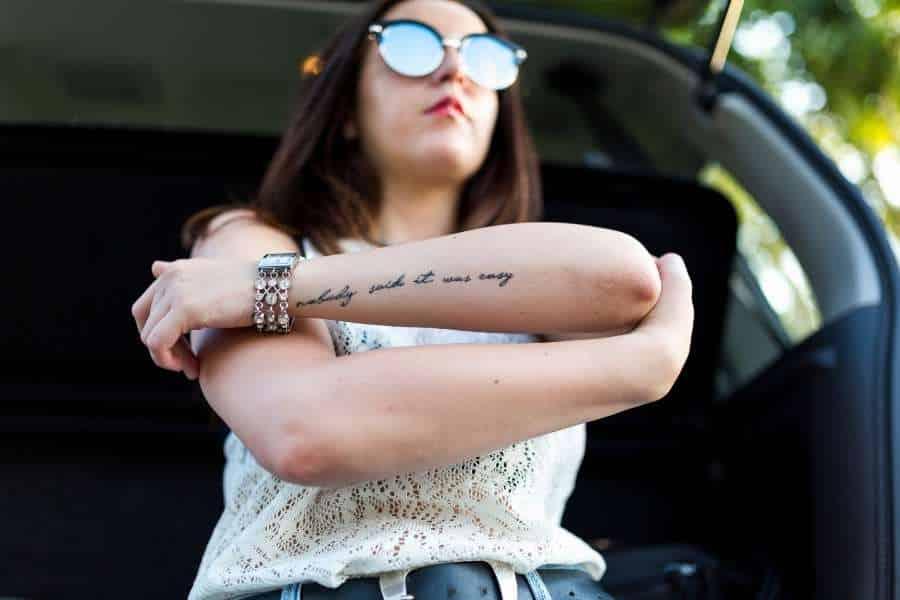 Tattoo teenager