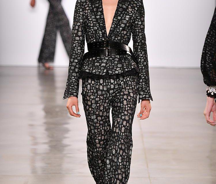 NYFW Wang Tao – Fine Tailoring & Chic Silhouettes