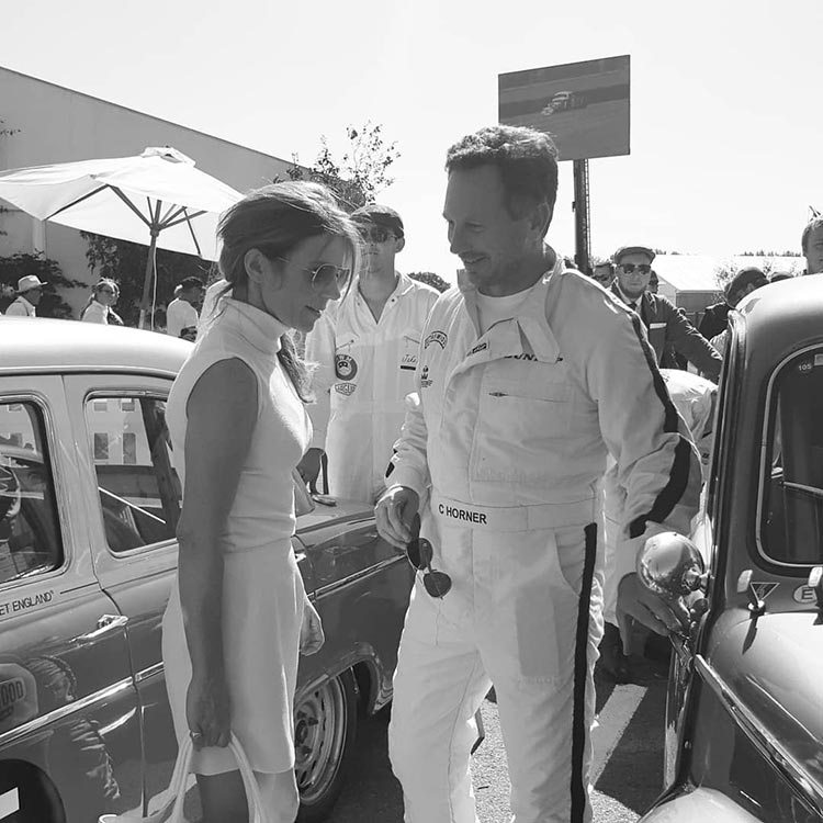 Geri-Horner-Christian-Horner-Goodwood-Revival-2019-Gracie-Opulanza-photography-