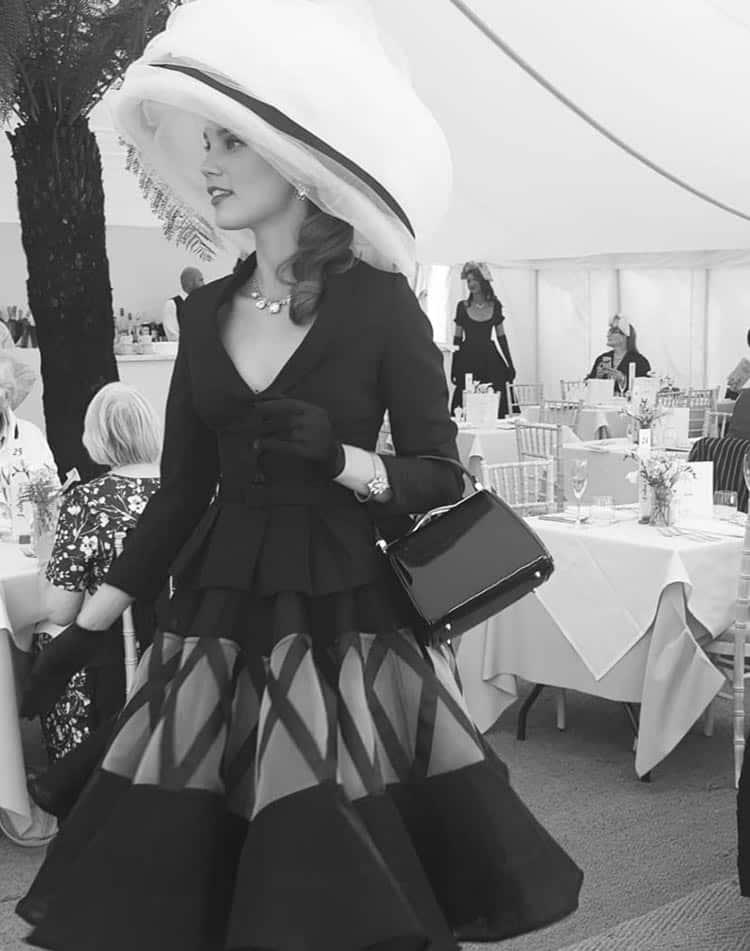 Goodwood Revival - Dior Vintage Catwalk
