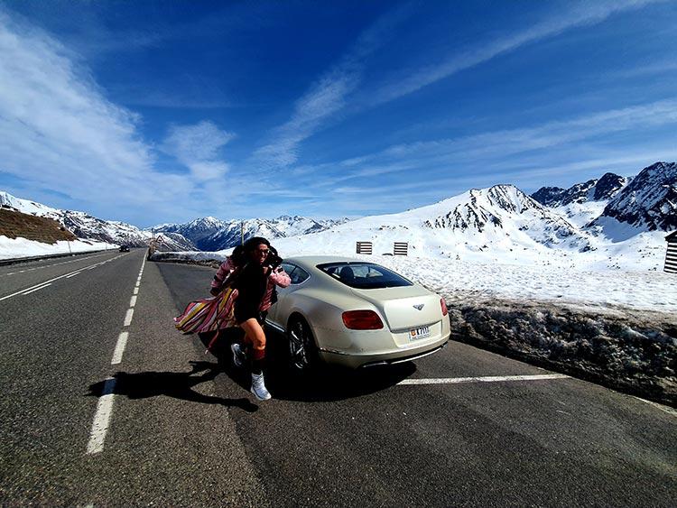 Gracie Opulanza Bentley GT Andorra 2020 Mountain Lifestyle (1)