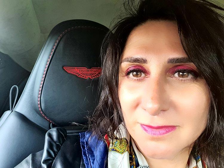 Microblading eyebrow tattoo The beauty clinic Gracie Opulanza Aston Martin DB11 (1)