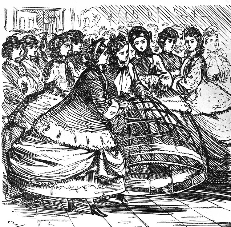 Social distancing crinoline petticoat fashion (1)