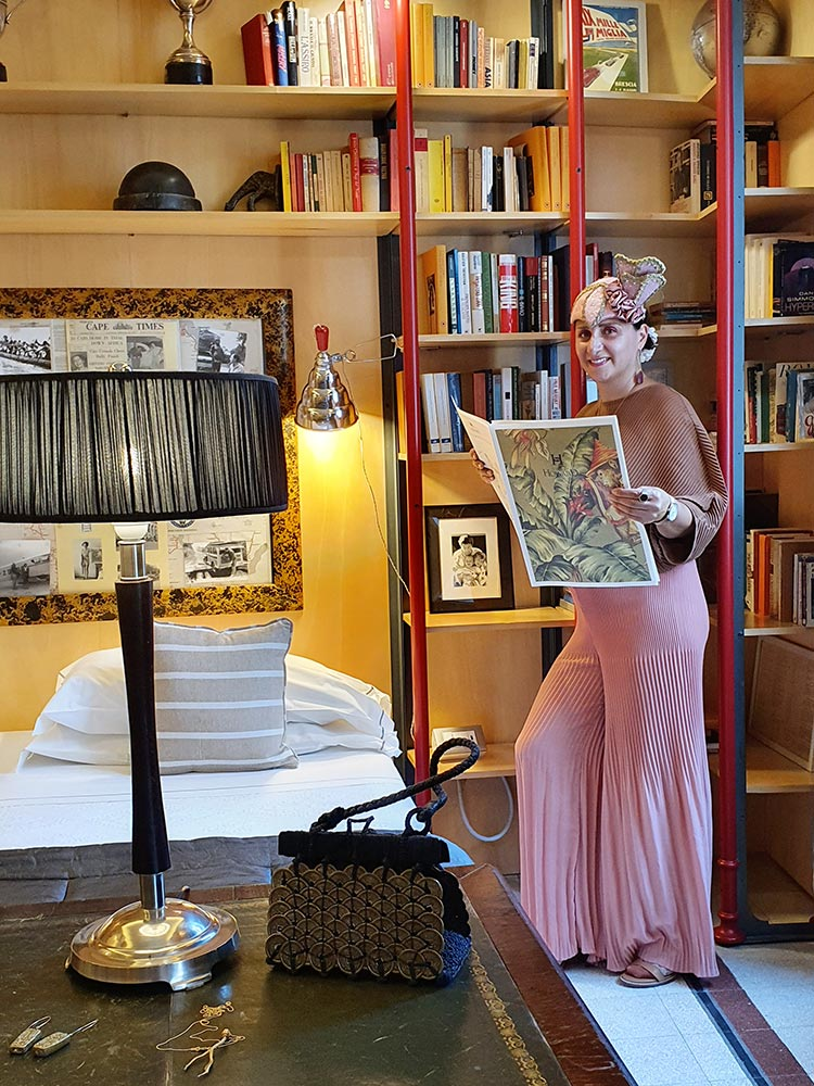 Casa Howard library room dixie italy florence gracie opulanza 2020 (2)