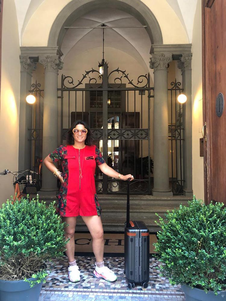 Ferrari Red Jumpsuit - Florence Street Style
