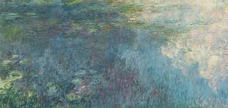 The Water Lilies - The Clouds; Date Created 19151926; Provenance Donation of Claude Monet, 1922.