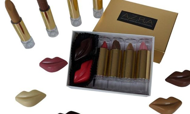 Azra Chocolate – Edible Lipstick