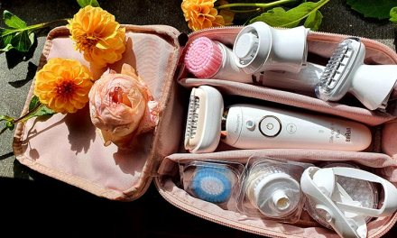 Braun Silk-épil 9 Flex 9-100 Beauty Set Epilator Facial Scrub Reviewed