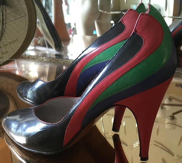 80s Courts high heels vintage