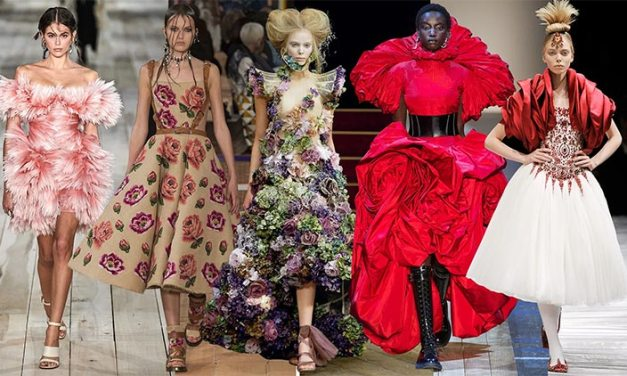 Alexander McQueen's Vintage Inspiration Over The Years
