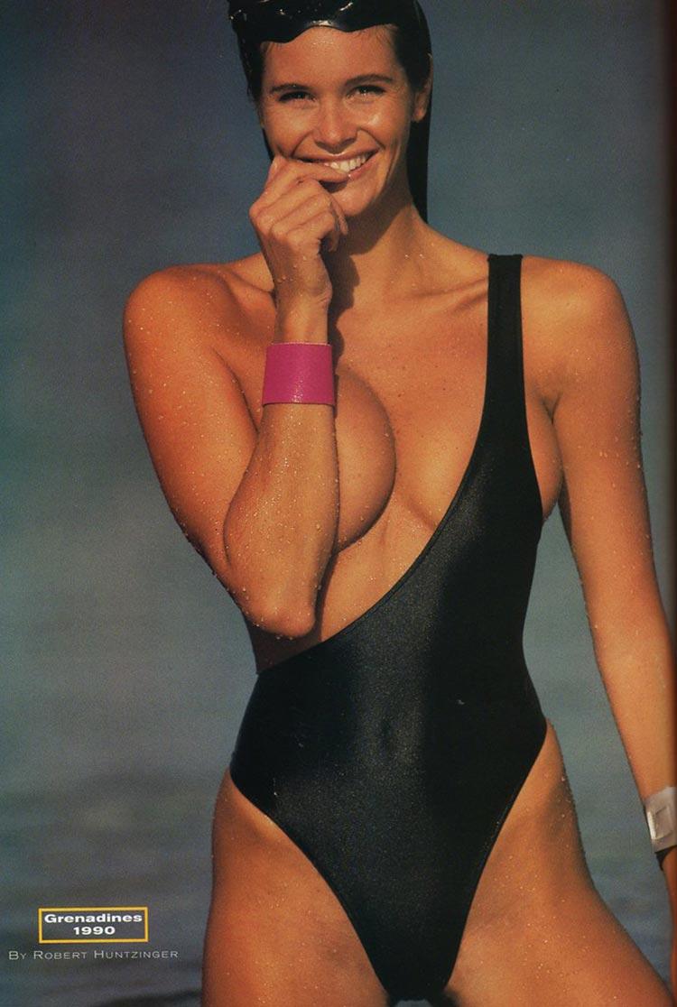 Elle McPherson The Body 1990 Australian model