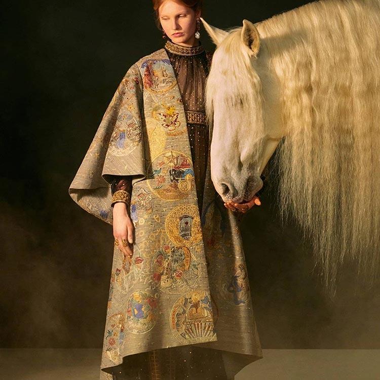 House coat Dior 2021 Haute couture