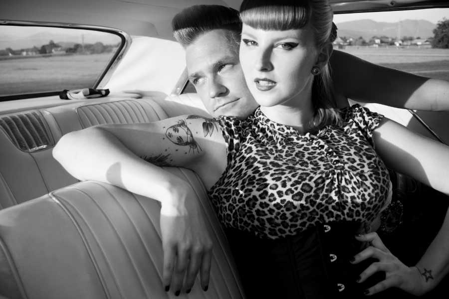 How to Get the Rockabilly Look - Fashion, Hair & Makeup leopard shirt