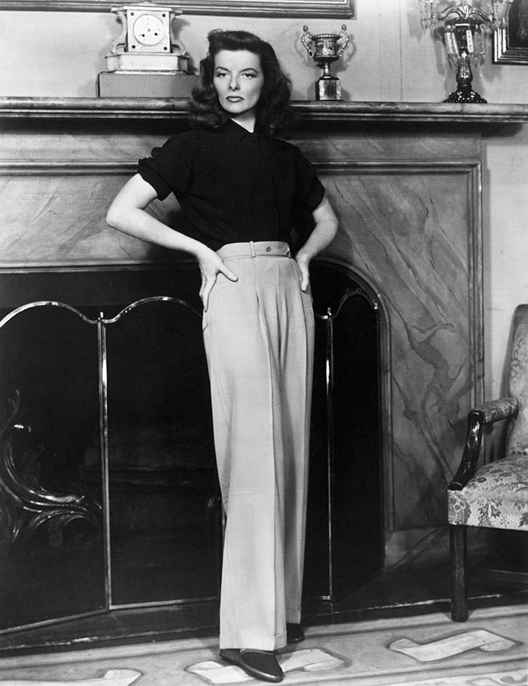 Katherine Hepburn - Vintage Style Modern Tips