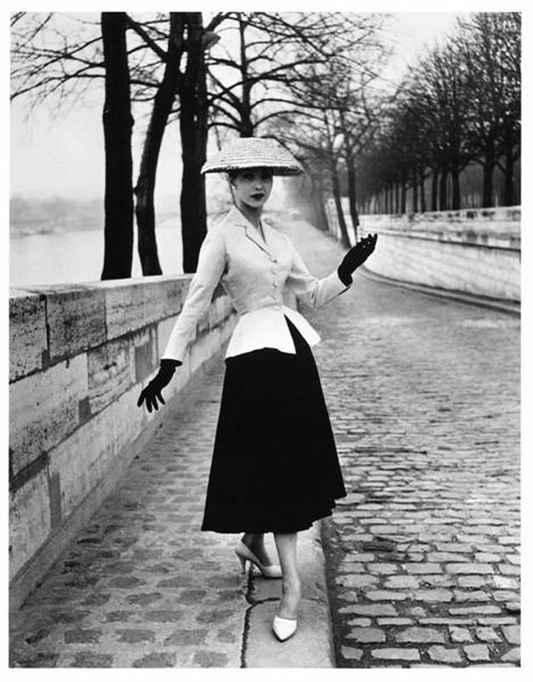 1940s-1950s Dior's Couture New Look