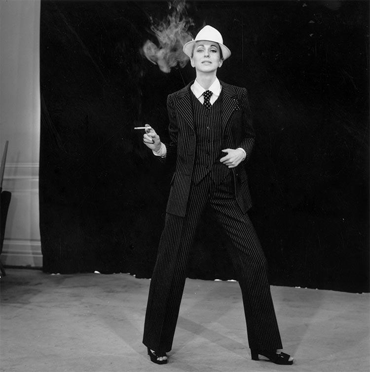 Tuxedo For Women smoking