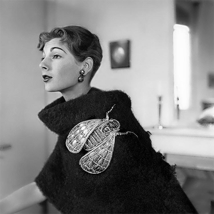schiaparelli brooch vintage