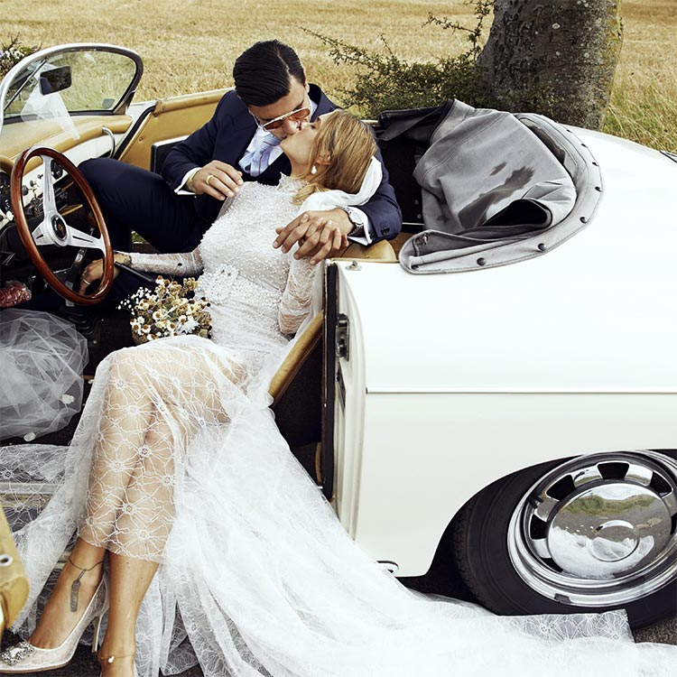 vintage fashion wedding