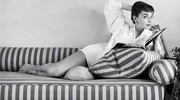 Shirt dress Audrey Hepburn sleepwear (2)