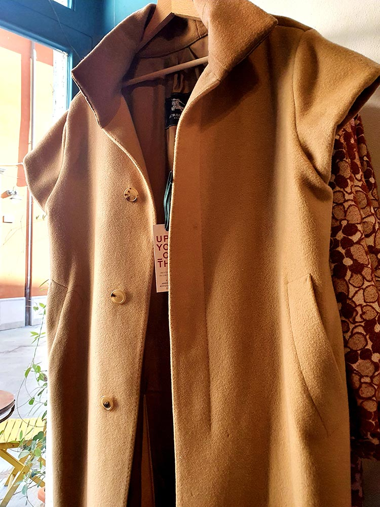 Upcycle Burberry Jacket Gracie Opulanza fashion