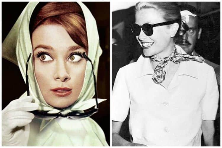 Flora scarf was designed in 1966 by RodolfoGucciand Vittorio Accornero for Grace Kelly vintage Audrey Hepburn (2)