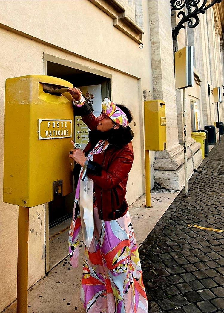 Vatican City Post office Rome