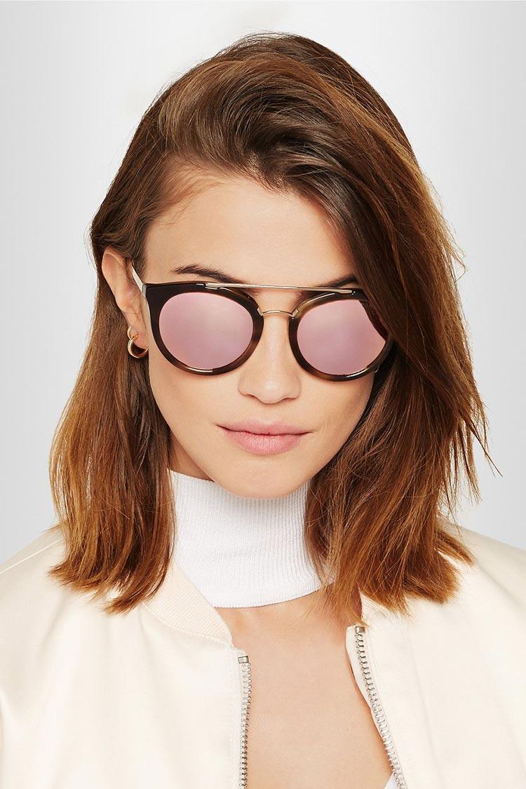 Prada's Mirrored Sunglasses (1)