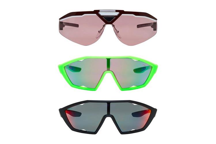 Prada's Perspex Sunglasses