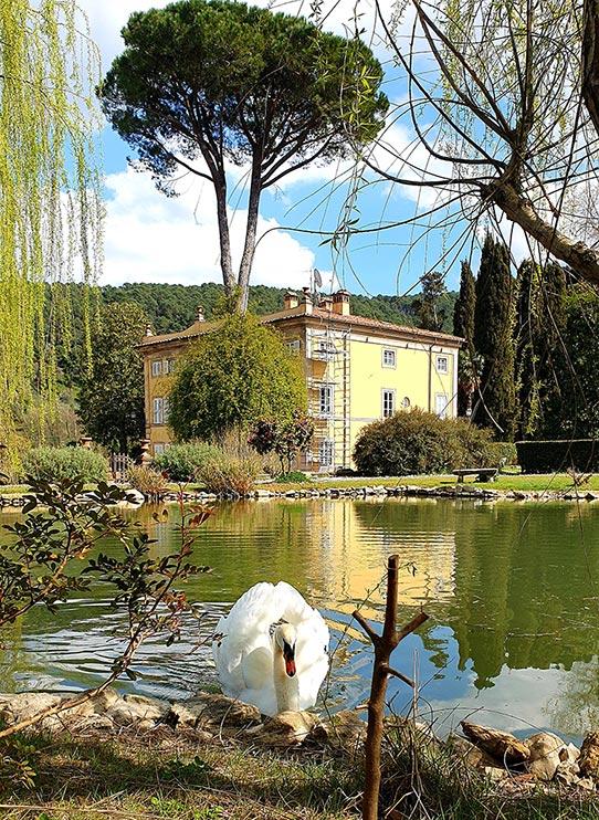 Swan-Villa-Tuscany-lake
