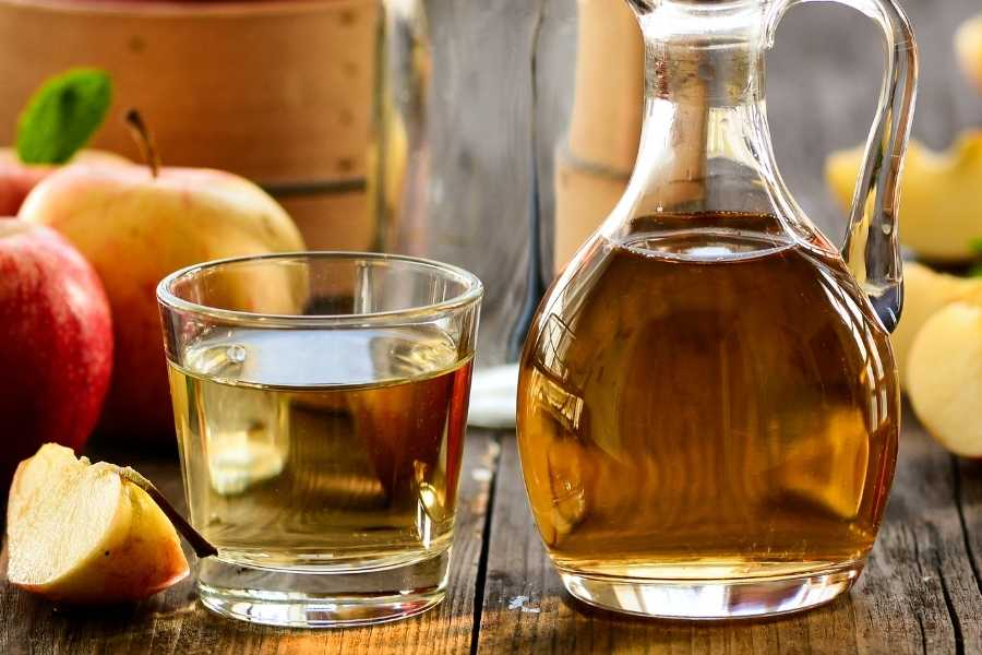 Vinegar is a surprisingly effective way to clean the smell of vintage