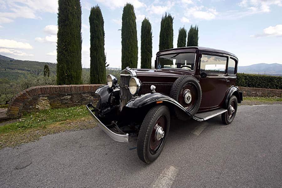 Fiat Balilla Gracie Opulanza Tuscany Italy classic car (5)