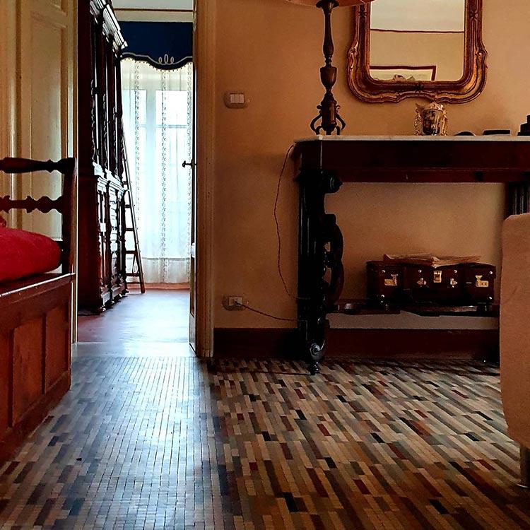 mosaic floor Tuscany