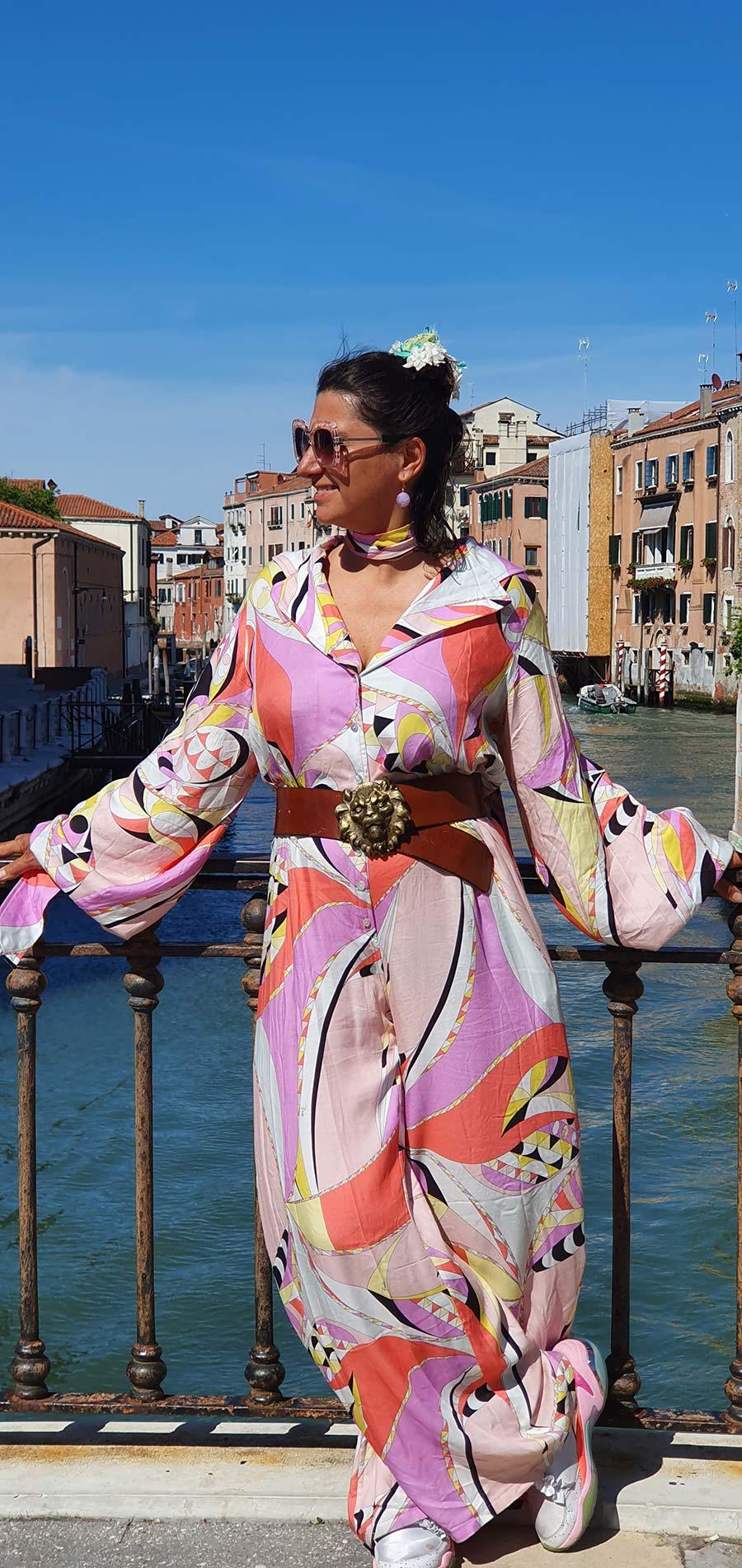Gracie Opulanza Pucci print playsuit venice 2021 vintage (3)
