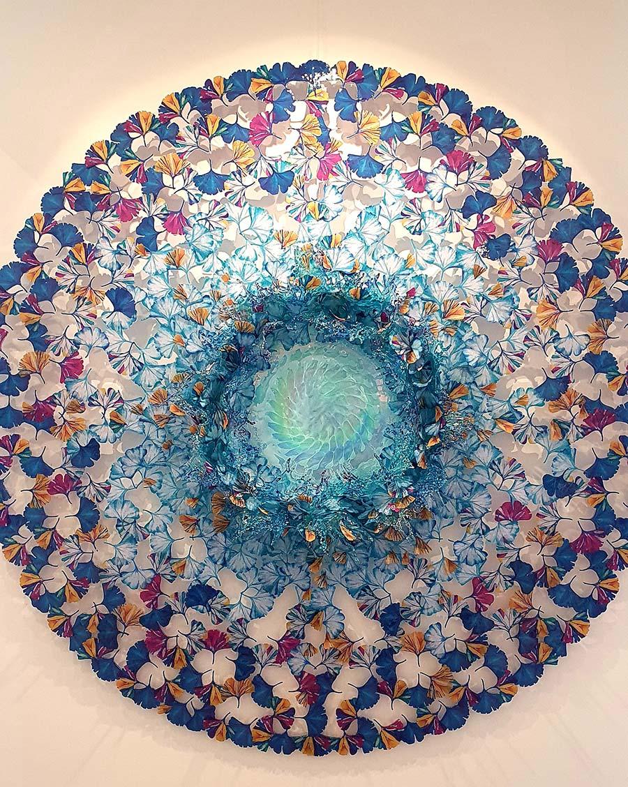 Murano Glass art butterfly venice italy (1)