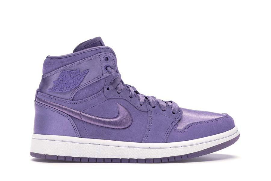 Air Jordan 1 Nike purple women's shoes