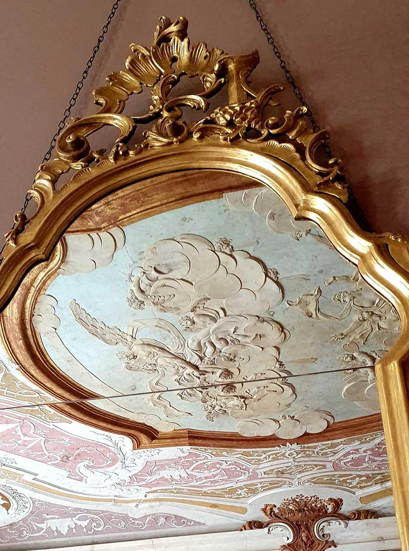ornate ceiling 15th century venice Ca sagredo