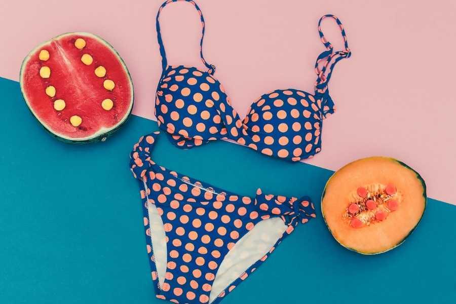 polka dot swimwear for summer (2)