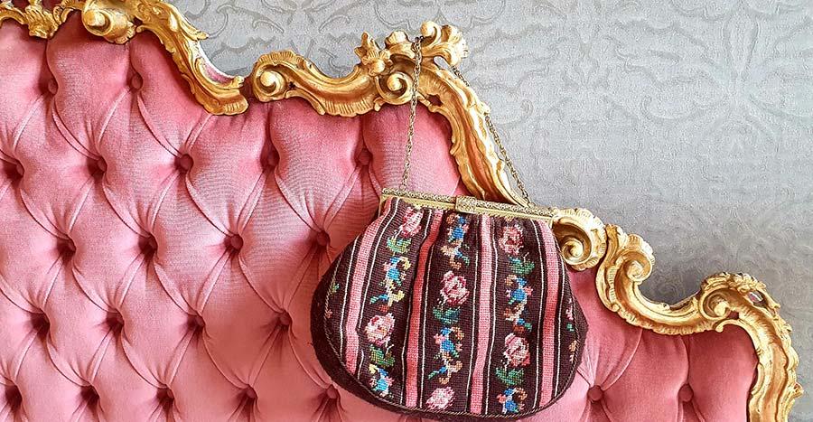 tapestry handbag Gracie Opulanza