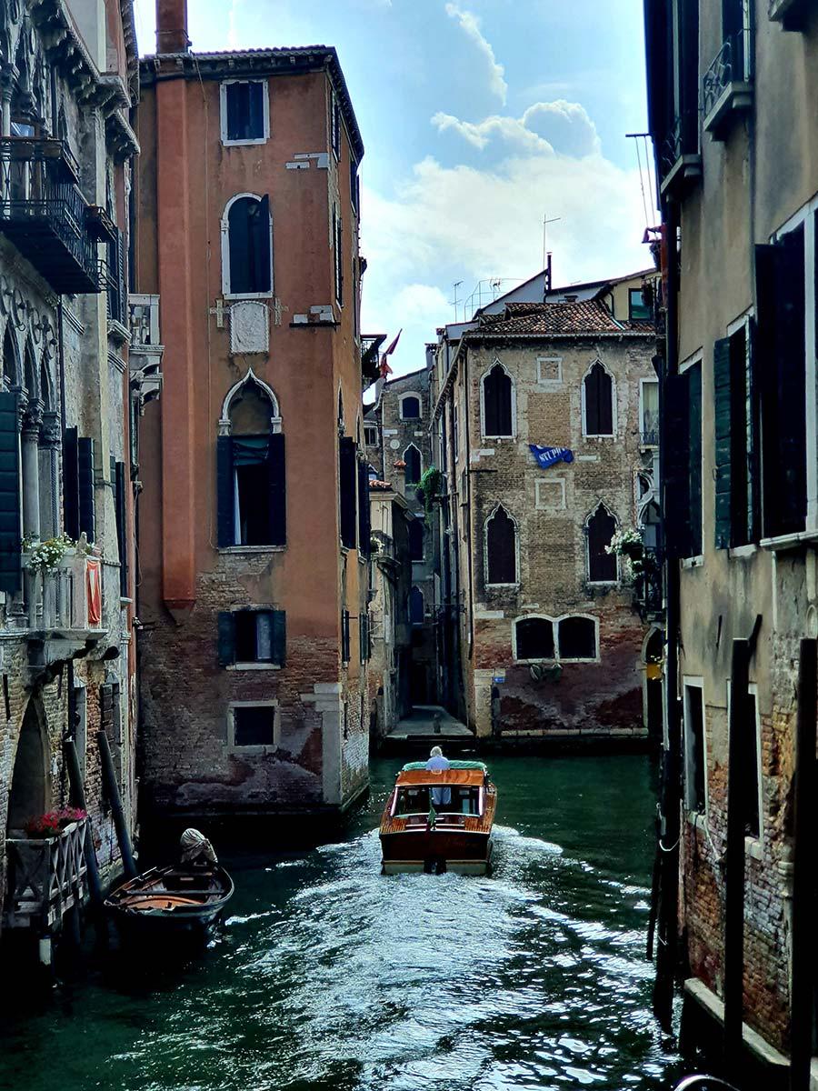 Riva speedboat Venice
