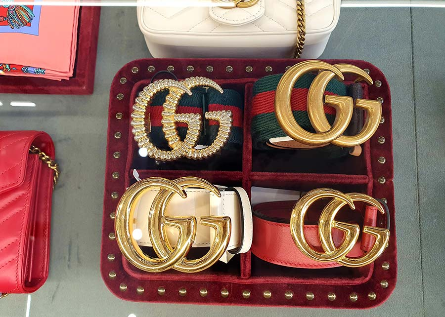 Gucci Belts made in italy
