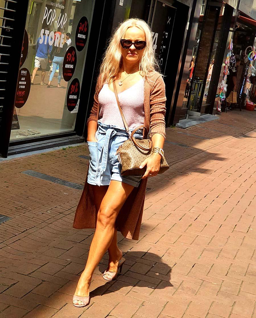 denim shorts Amsterdam