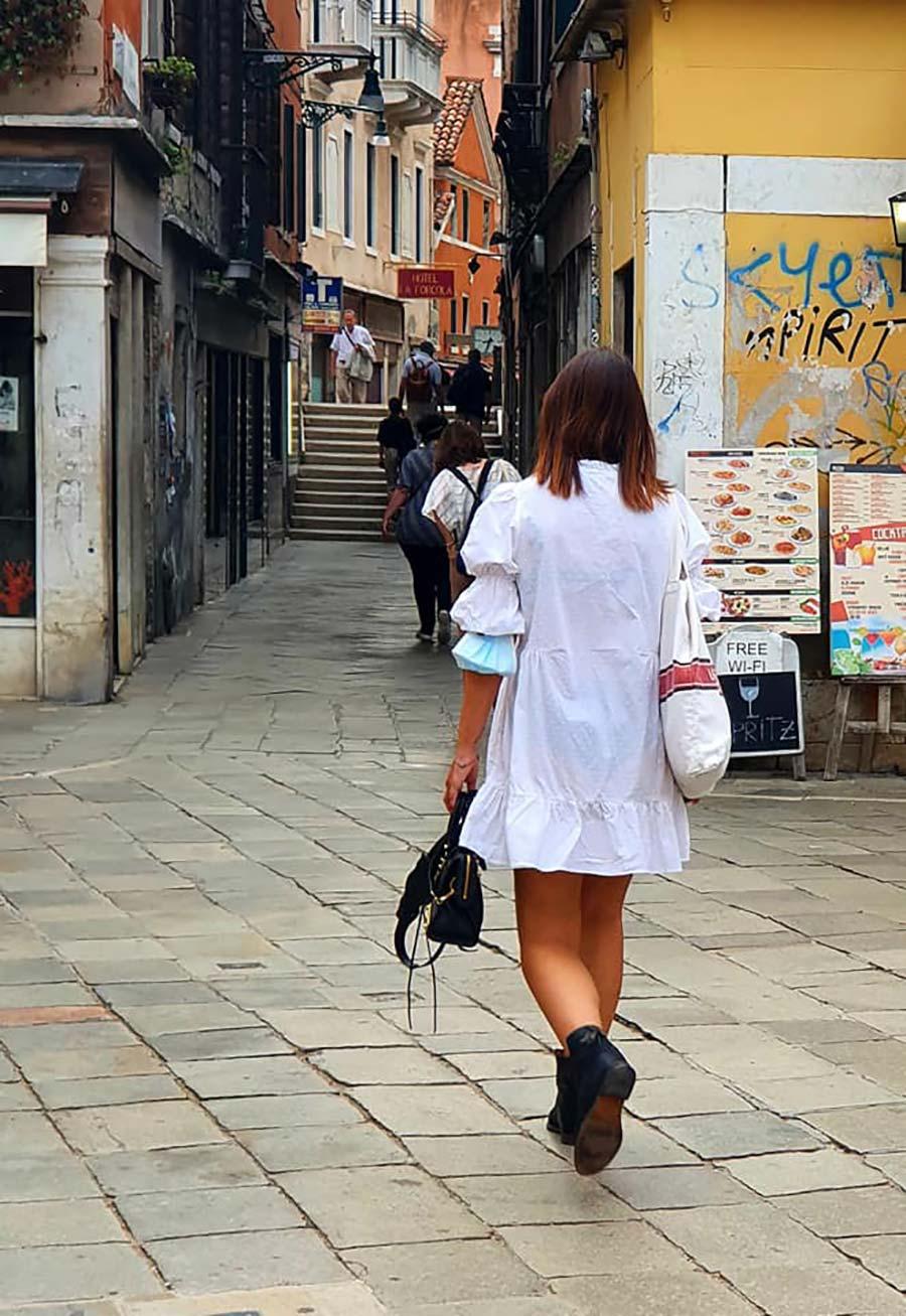 white maxi dress venice