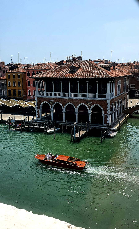 Grand Canal Riva Speedboat Venice Movie