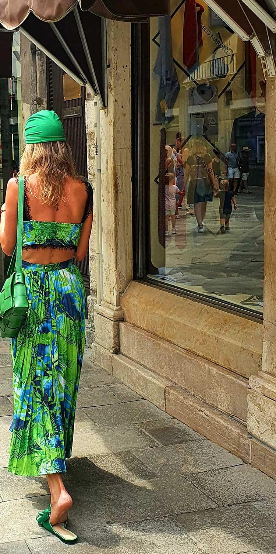 Turban green Venice
