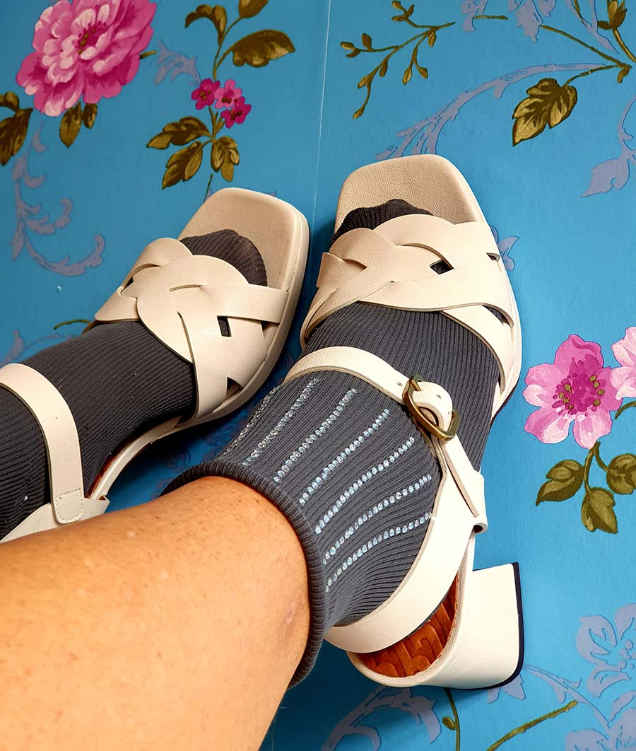 Fashion For Fifty - Sandals With Socks Style Tips