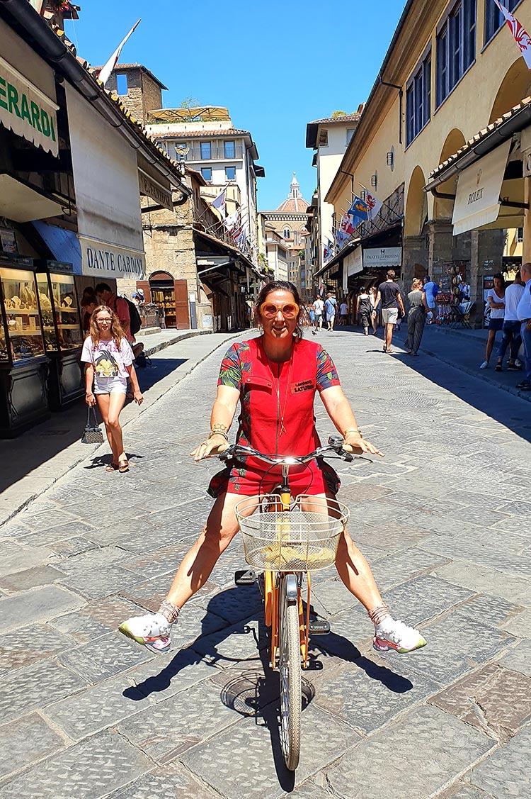 Ferrari-Red-Jumpsuit-Florence-Street-Style-Ponte-Vecchio-2