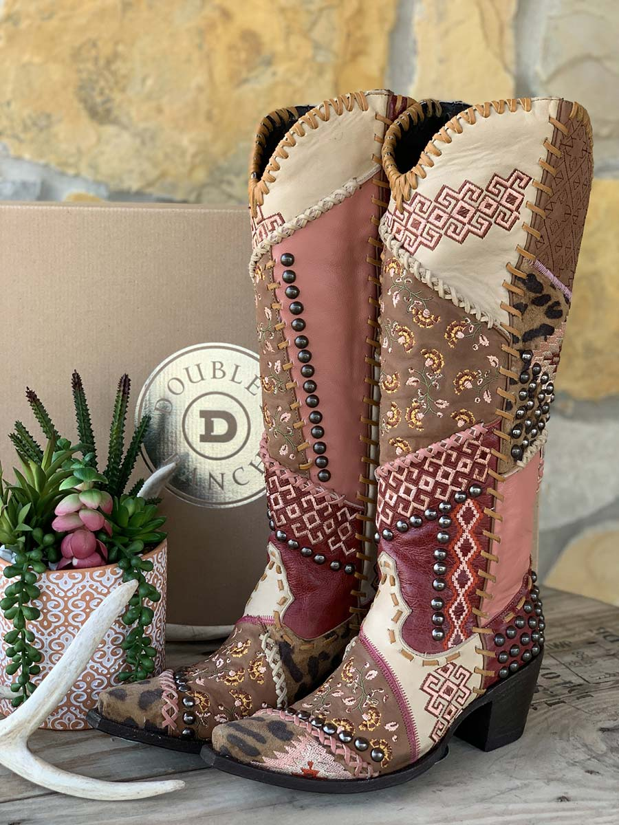 Old Gringo boot Mexico Leon Cowboy (3)