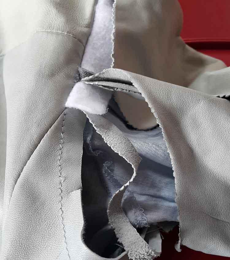 Prada Milano Jacket Torn