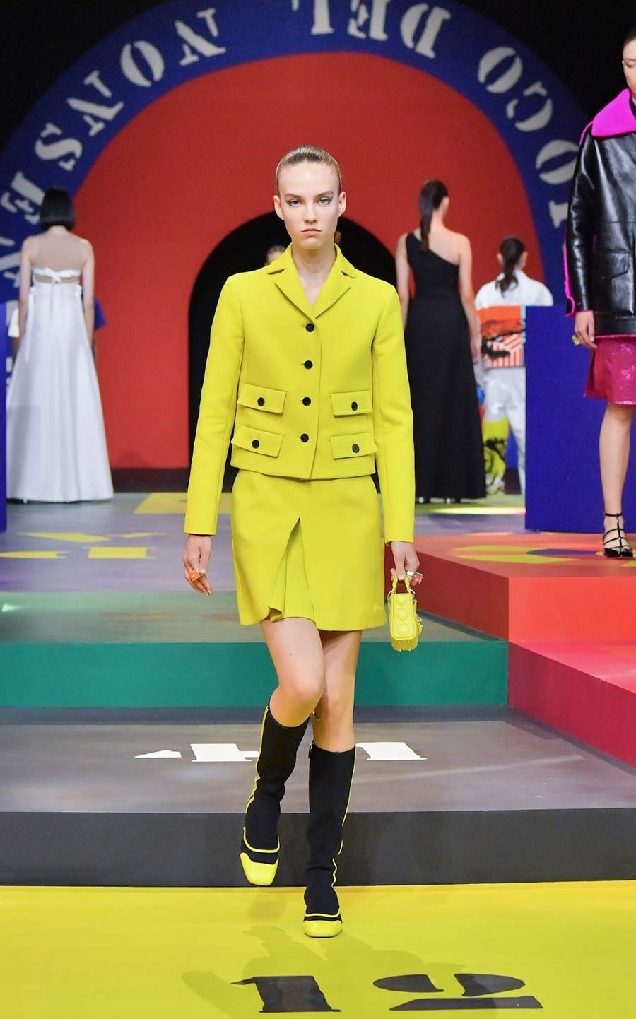 Paris fashion week mini skirt 2021